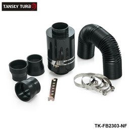 Wholesale Tansky Induction - Tansky - Carbon Fiber Air Box Cold Feed Induction Kit no with fan TK-FB2303-NF Have In Stock