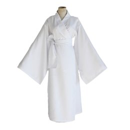 Wholesale Japanese Traditional Game - Japanese Anime Noragami Cosplay costume Yukine Costume for Adults white Japanese Traditional Dress + Scarf per set
