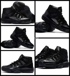 Wholesale Cheap Basketball Ball Shoes - 2017 Air Retro 11 XI Men Basketball Shoes Black Cheap Devil High Quality Mens Retros 11s Sneakers Basket ball Trainers Sport Shoe 8-13