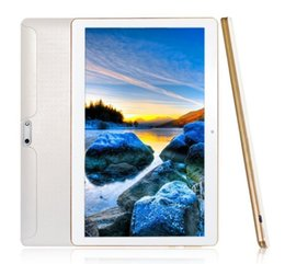 Wholesale Tablet 3g Phone China - 10 inch 1280*800 IPS Phone Call Android 5.1 4GB RAM 64GB ROM WiFi GPS Bluetooth Quad Core 10.1 inch 3G Android Tablets with SIM Card