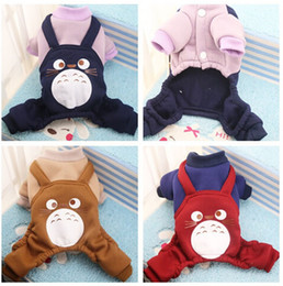 Wholesale Dog Clothes Bear - Home leisure wear Pet Dog and cat clothing harness sweater fashion cute bear four-legged sweater Free shipping Wholesale 048
