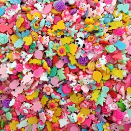 Wholesale Imitation Mobile Phones - Fashion DIY Korean cartoon flatback resin charms, mixed girl hair accessories mobile phones jewelry flowers scrapbooking findings beading