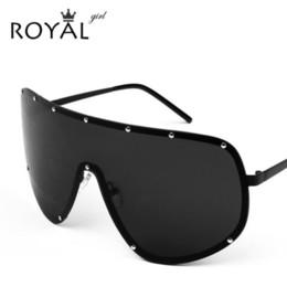 Wholesale Color Mix Statement - Wholesale-Oversized Men Polarized Face Sunglasses women sun shades big glasses Statement eyeglasses ss061