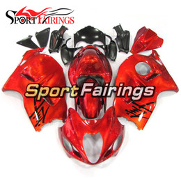 99 hayabusa injection mold Coupons - Injection Fairings For Suzuki GSXR1300 Hayabusa 97 98 99 00 01 02 03 04 05 06 07 1997 - 2007 ABS Motorcycle Fairing Kit Cowling Orange Gold