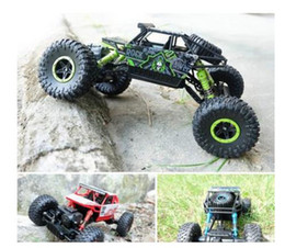 Wholesale 4wd 18 Electric - HB P1803 2.4GHz 1:18 Scale RC Rock Crawler 4WD Off-road Race Truck Toy
