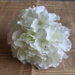 Wholesale Silk Hydrangea Stems Wholesale - artificial flower heads,silk hydrangea heads with custom length stems,wedding & home decoration,DIY bouquets wreath flower
