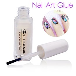 Wholesale White Tip Nails For Sale - Wholesale-1PC White Glue Adhesive for Star Foil Sticker Nail Art Transfer Tips for Adult Women 2016 New Nail DIY Tools Hot Sale Gift