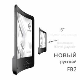 Wholesale Ebook Eink - Wholesale- Hot sale! Brand New Wexler Flex One FB2 Russian flexible eink screen e book reader ebook ink e ink book 110g 8GB 1024x768 pixels