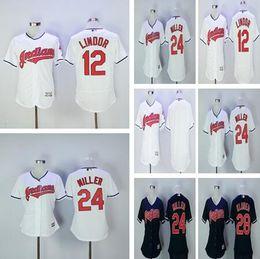 Wholesale Indian Stitch - 2017 Womens Cleveland Indians Jerseys Baseball 12 Francisco Lindor 28 Corey Kluber 24 Andrew Miller Ladies Blue White Stitched Shirt