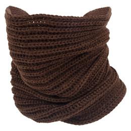 Wholesale Crochet Loops - Wholesale- HOT SALE!Lady Winter knitting Circle Cowl Crochet Snood Tube Neck Loop Warmer Scarf Shawl