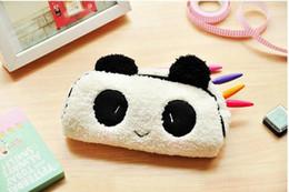 Deutschland Netter Panda groß Federmäppchen Brieftasche Geldbeutel Schulmaterial für Kinder Kosmetik Make-up Tasche Fall versandkostenfrei supplier wallet panda Versorgung