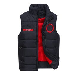 Wholesale Duck Vest Xxl - Free send Men's PoLo cotton wool collar hooded down vests sleeveless jackets plus size quilted vests Men PAUL vest vests outerwear,M-XXL