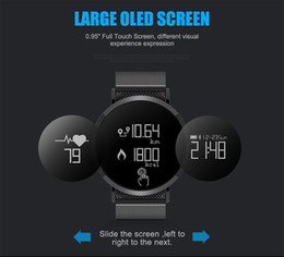 Wholesale Calories Watch Heart Rate - Sports Smart Bracelet Heart Rate Blood Pressure Pedometer Watch Waterproof Sleep Tracking Function Android ios System Alarm Clock Calories