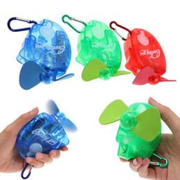 Wholesale Fresh Gear - 3 Colors Mini Portable Deluxe Electric Water Spray Fan Stay Fresh Cooling You Water Spray Mist Fan Travel Sport Mini Fan CCA6487 120pcs