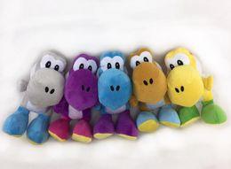 Wholesale Mario Plush For Free - 18cm 3 Styles Super Mario Yoshi Plush Toy Soft Stuffed Doll Toy for kids gift toy free shipping retail