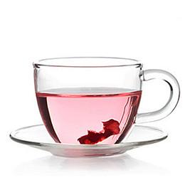 2019 tazze speciali 5SET / LOT 80ML tazze da tè in vetro resistente al calore e piattini caffè tazza di vetro tazza di latte vendita speciale G0137 tazze speciali economici