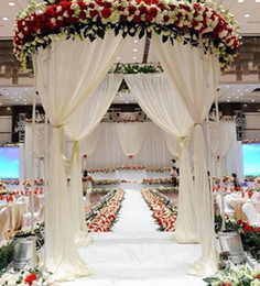 Wholesale Events Party Suppliers - China Supplier Fashion Trend Backdrop Design Fabric Wedding Stage Decoration Backdrop for Hotel Banquet and Event