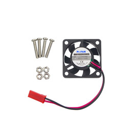 Wholesale Raspberry Pi Acrylic - Wholesale- Raspberry Pi 3 CPU Fan Cooling Fan for Customized Acrylic ABS Case Support Raspbery Pi 2 For Orange Pi