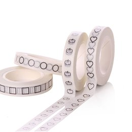 Wholesale Tape Designs - Wholesale- 2016 New pattern 8mm*10m washi tape with beautiful cute designs