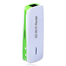 Wholesale Powerbank Wifi - Wholesale- 2016 New Portable Mini 150Mbps 3G WIFI Mobile Wireless Router Hotspot 1800mAh Powerbank
