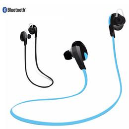 Wholesale Headphone Real - Bluetooth Earphone H7 Quality Real Stereo Sound Bluetooth 4.1 Ear Hook Headphone Wirless Handsfree Headset earbuds iphone 7 Headphones