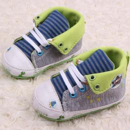 2020 casual desenhos animados sapatos miúdos Bonito Impresso Baby Cartoon Kids Shoes Primeira Walker Casual Anti-Slip criança Caminhada da sapatilha casual desenhos animados sapatos miúdos barato