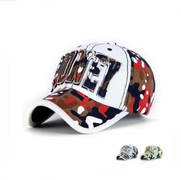 Wholesale Striped Sticker - High quality Spring new cowboy baseball cap men and women outdoor sun hat stickers embroidery MONEY hat DMB037