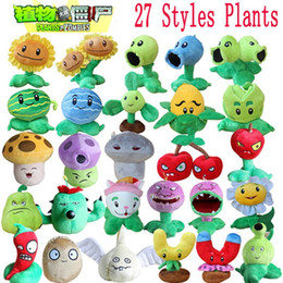 Wholesale Zombie Baby - 16 Styles Plants vs Zombies Plush Toys 13-20cm Plants vs Zombies Soft Stuffed Plush Toys Doll Baby Toy for Kids Gifts Party Toys