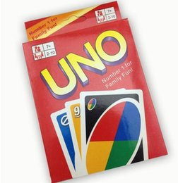 Wholesale Toys Basketball Board - 50sets lot UNO Card Games 108 card Entertainment Trading Card Games Fun Poker Playing Cards Family Fun!! Party Board Games Standard DHL Free