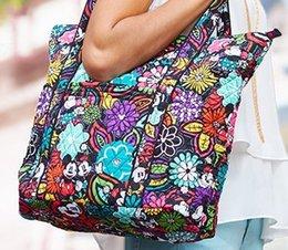 Wholesale Green Cotton Tote Bag - VB Medallion tote Shoulder bag