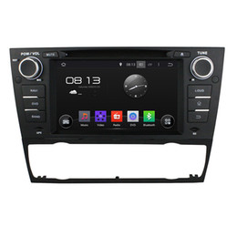 Wholesale Bmw E92 - Fit BMW E90 Saloon E91 Touring E92 Coupe E93 Cabriolet AT Android 5.1.1 1024*600 HD car dvd player gps radio 3G wifi BT dvr OBD2 FREE MAP