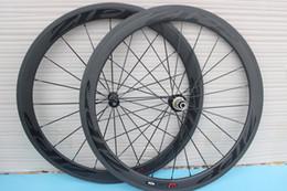 Wholesale Bike Speed Hub - powerway R36 hubs bob bicycle carbon wheel clincher 50m 3k matt 11 speed clincher 700C road bike wheelset carbon wheels free shipping by EMS