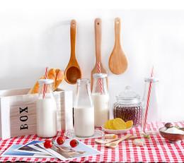 Wholesale Fancy Glass Bottles - Food safe Fancy clear 200ml 300ml Pudding Glass yoghourt Bottle Mini Milk Bottle with screw metal Cap
