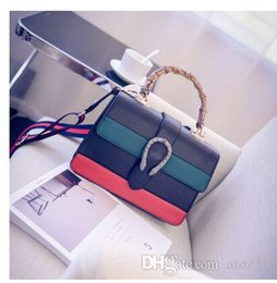 Wholesale Genuine Leather Handbag Vintage - Luxury geunine Leather Handbag Bags Women Famous Brands Shoulder Bag Female Vintage Satchel Bag Crossbody Messenger Bag