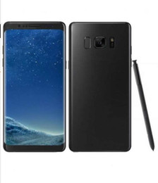 Wholesale Note Inch 1gb Ram - Goophone note8 5.7 inch cell phone N7 MTK6580 Quad Core 1G 8GB Note 8 1280*720 Show 4G ram 64G rom show 4g lte Smartphone
