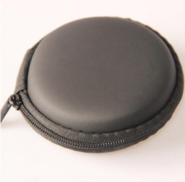 Wholesale Hard Case For Headphones - Hold Case Storage Carrying Hard Bag Box for Earphone Headphone Earbuds memory Card