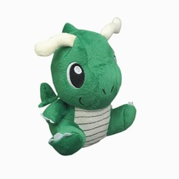 """Wholesale Pokemon Dragonite Toy - Hot New 6"""" 15CM Dragonite Poke Doll Anime Collectible Stuffed Doll Pocket Monsters Party Birthday Gifts Soft Plush Doll Toys"""