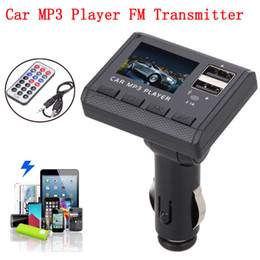Wholesale Bluetooth A2dp Car Radio - Car Mp3 Player Wireless Bluetooth Fm Transmitter FM Modulator HandsFree Car Kit A2DP 5V 2.1A USB Charger