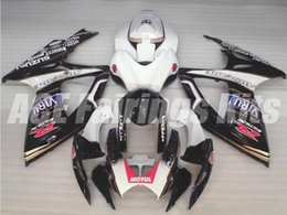 Wholesale K6 Viru - Free gifts+Seat Cowl New bike Fairing Kits For SUZUKI GSXR 600 750 K6 06 07 GSXR-600 GSXR750 GSXR600 GSXR-750 2006 2007 white black VIRU