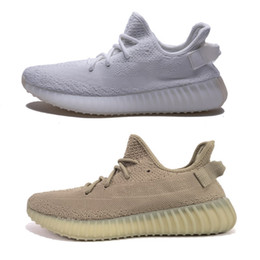Wholesale Mens C - Zebra 350 Boost 2017 V2 Mens Shoes For Sale - Sply 350 v2 Cream White,Dark Green,Beluga 2.0 Women Kanye West Sneakers