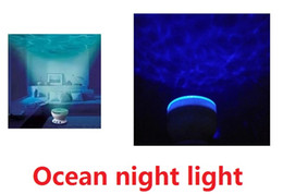 Wholesale Motion Wave - Led night light wave projector Ocean projection lamp waves of people Aurora version of the stars with audio function M526