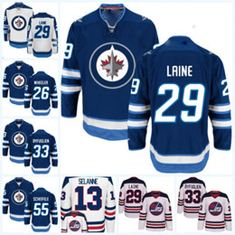 Wholesale Womens 16 - Winnipeg Jets Jerseys Womens 29 Patrik Laine 33 Dustin Byfuglien 55 Mark Scheifele 26 Blake Wheeler 16 Shawn Matthias Hockey Jerseys
