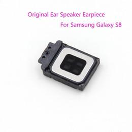 Wholesale Module Sound - Original New Ear Speaker Earpiece Sound Top Listening Speaker Module Replacement Part for Samsung Galaxy S8 G950F   S8 Plus G955F