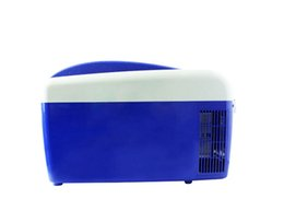 Wholesale Car Refrigerators - Wholesale- Home heating and cooling box car mini portable refrigerator car refrigerator refrigeration insulation 8L 5274ML