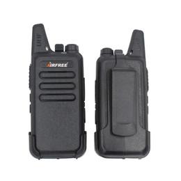 Wholesale Long Range Two Way Radios - Wholesale- AIRFREE AP-100 KD-C1 Mini Walkie Talkie UHF 400-470 MHz long range Two-Way Radio transceiver KD-C1