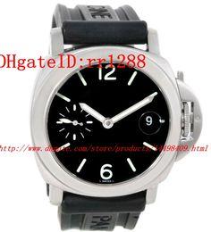 Wholesale Marina Black - 2017 Luxury luxury watches Fashion watch STEEL MARINA PAM00048 WATCH PAM048 WATCHES mens watch Watches Wristwatches