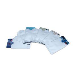 detentores de cartões de crédito rfid Desconto Protetor de cartão de crédito seguro mangas RFID Bloqueio ID Titular Foil Shield Card, cartão de crédito, titulares de cartão do empregado
