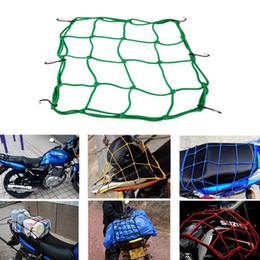 Wholesale Atv Luggage - 100 X Motorcycle Luggage Cargo Tank Helmet Tie Down Bungee Net for Motor Bike ATV Bargin Price