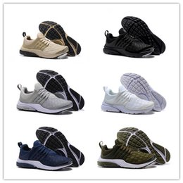 Wholesale air woven - Latest Presto SE Woven Men's Athletic Shoes Duscount Air Trainers for Women Outdoor Sports Sneakers 36-45 White Black Grey Army Green