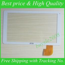 Tableta de 9,7 pulgadas de color blanco online-Venta al por mayor-Blanco Nuevo 9 '' pulgadas SPC Tablet Digitalizador ZYD090-17V03 Sensor de reemplazo de la tableta Panel de pantalla táctil Envío gratis